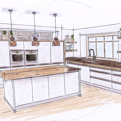 Landhaus, Mediterrane Und Moderne Küchen, Waging, Traunstein