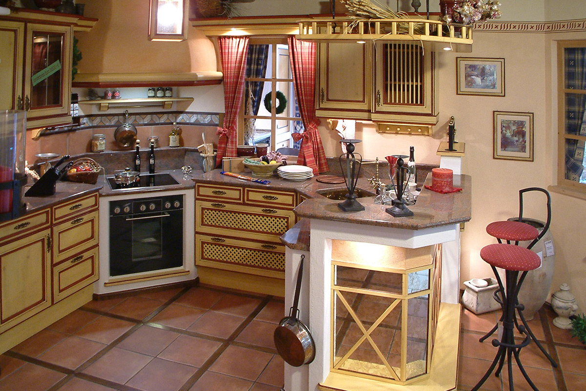 Mediterran Küche landhaus mediterrane und moderne küchen waging traunstein